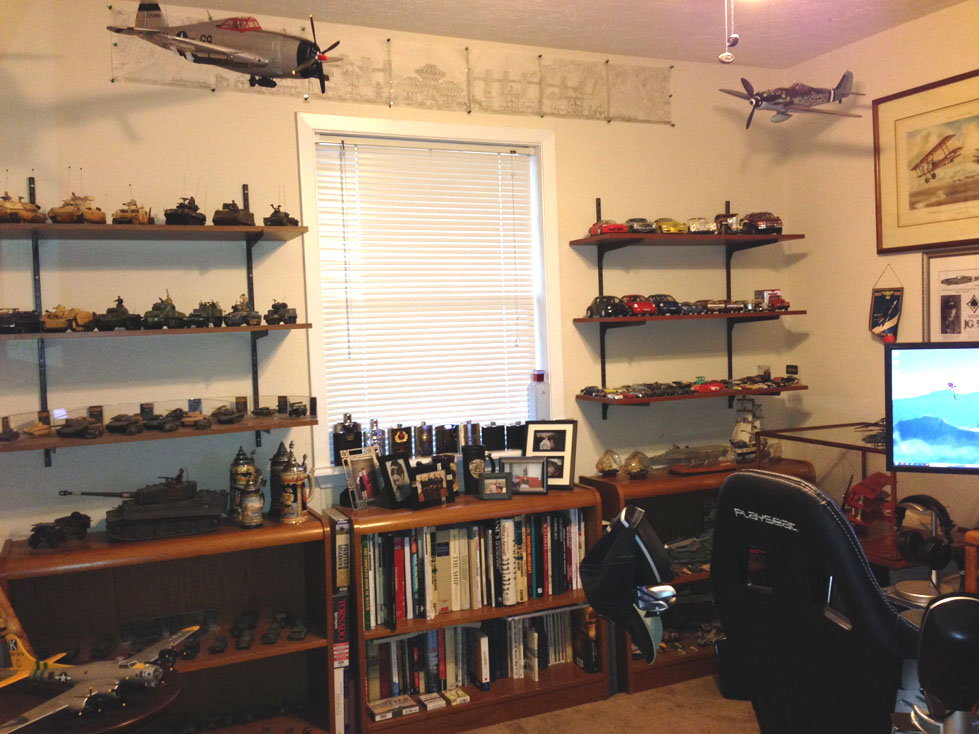 Ultimate man cave simhq forums for Fishing man cave